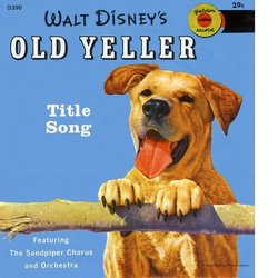 Old Yeller 声带 (Various Artists, Will Schaefer, Oliver Wallace) - CD封面