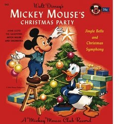 mickey mouses christmas party soundtrack various artists anne lloyd mitch miller the