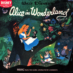 Alice in Wonderland サウンドトラック (Various Artists,  Camarata, Darlene Gillespie, Oliver Wallace) - CDカバー