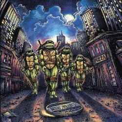 Teenage Mutant Ninja Turtles Colonna sonora (John Du Prez) - Copertina del CD