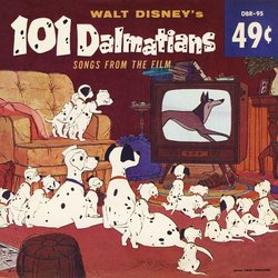 101 Dalmatians Soundtrack (Various Artists, George Bruns, The K-Nine) - Carátula