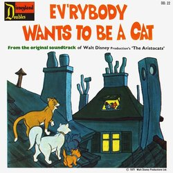 It's A Small World / Ev'rybody Wants To Be A Cat Soundtrack (Various Artists, George Bruns, Jack Coleman Singers, Scatman Crothers, Phil Harris) - CD Achterzijde