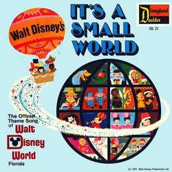 It's A Small World / Ev'rybody Wants To Be A Cat Soundtrack (Various Artists, George Bruns, Jack Coleman Singers, Scatman Crothers, Phil Harris) - CD cover