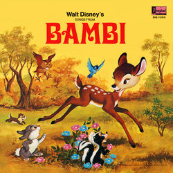 Bambi Soundtrack (Various Artists, Frank Churchill, Edward H. Plumb) - CD-Cover