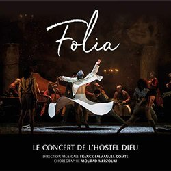 Folia Soundtrack (Franck-Emmanuel Comte) - CD-Cover