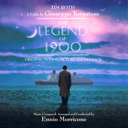 The Legend of 1900 Soundtrack (Ennio Morricone) - CD cover