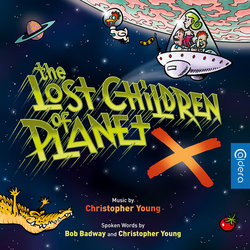 The Lost Children of Planet X Bande Originale (Christopher Young) - Pochettes de CD