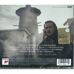 The Last Kingdom Colonna sonora ( Eivor, John Lunn) - Copertina posteriore CD