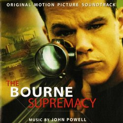 The Bourne Supremacy Soundtrack (John Powell) - CD cover