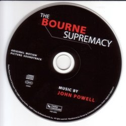 The Bourne Supremacy Soundtrack (John Powell) - cd-inlay