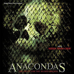 Anacondas: The Hunt for the Blood Orchid Soundtrack (Nerida Tyson-Chew) - CD cover