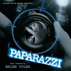 Paparazzi Soundtrack (Brian Tyler) - CD cover