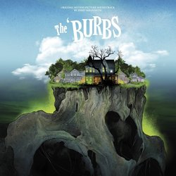 The 'Burbs Soundtrack (Jerry Goldsmith) - CD cover