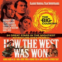 The Big Country / How The West Was Won Soundtrack (Jerome Moross, Alfred Newman) - CD cover