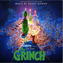 Dr. Seuss' The Grinch 聲帶 (Danny Elfman) - CD封面
