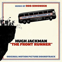 The Front Runner Soundtrack (Rob Simonsen) - CD cover