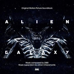 Alien Galaxy Soundtrack (2080 ) - CD-Cover