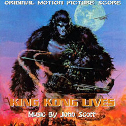 King Kong Lives Soundtrack (John Scott) - CD cover