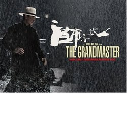 The Grandmaster Soundtrack (Nathaniel Méchaly, Shigeru Umebayashi) - CD cover
