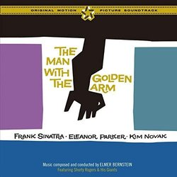 The Man with the Golden Arm Trilha sonora (Elmer Bernstein) - capa de CD