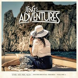 JF&G's Adventures: The Musicals Instrumental Themes, Vol. 1 Soundtrack (JF&G ) - CD-Cover