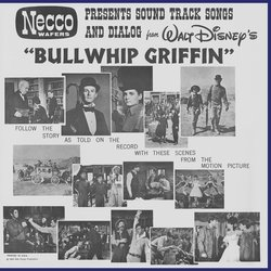 The Adventures Of Bullwhip Griffin Soundtrack (Various Artists, Bryan Russell) - CD-Rückdeckel