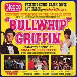 The Adventures Of Bullwhip Griffin Soundtrack (Various Artists, Bryan Russell) - CD-Cover