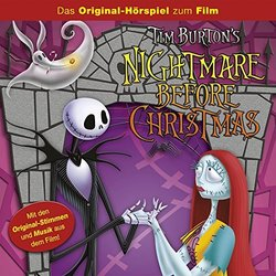 Nightmare before Christmas Soundtrack (Various Artists) - Carátula