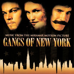 Gangs Of New York Soundtrack (Various Artists, Howard Shore) - CD cover