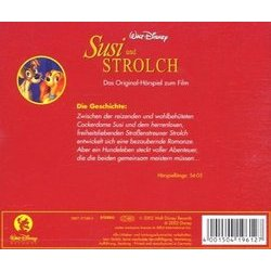 Susi und Strolch Bande Originale (Various Artists) - CD Arrière