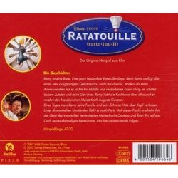Ratatouille Soundtrack (Various Artists) - CD Back cover
