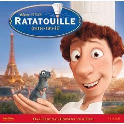 Ratatouille Soundtrack (Various Artists) - CD cover