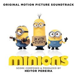 Minions Trilha sonora (Various Artists) - capa de CD