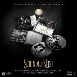 Schindler's List Soundtrack (John Williams) - cd-inlay