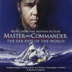 Master and Commander: The Far Side of the World Ścieżka dźwiękowa (Iva Davies, Christopher Gordon, Richard Tognetti) - Okładka CD