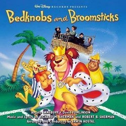 Bedknobs and Broomsticks Soundtrack (Various Artists, Robert B. Sherman, Robert B. Sherman, Richard M. Sherman, Richard M. Sherman) - CD-Cover
