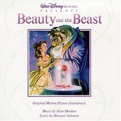 Beauty and the Beast Μουσική υπόκρουση (Howard Ashman, Original Cast, Alan Menken) - Κάλυμμα CD