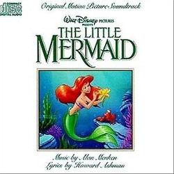 The Little Mermaid Colonna sonora (Alan Menken) - Copertina del CD