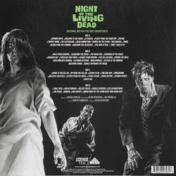 Night of the Living Dead Soundtrack (Various Artists) - CD Achterzijde