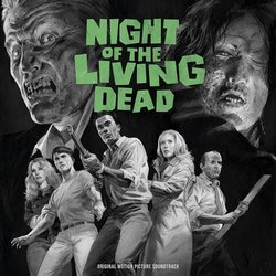 Night of the Living Dead Soundtrack (Various Artists) - CD cover