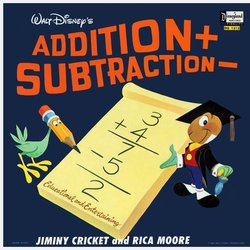 Addition and Subtraction Soundtrack (Various Artists, Cliff Edwards, Rica Moore) - CD cover