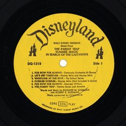 Music From Three Walt Disney Motion Pictures Soundtrack (Various Artists, Various Artists, Maurice Chevalier, Annette Funicello) - cd-inlay