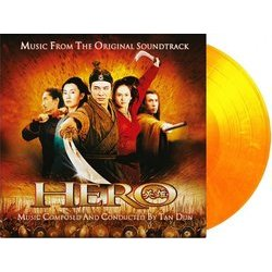 Hero Soundtrack (Dun Tan) - cd-carátula