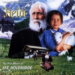 Heidi Soundtrack (Lee Holdridge) - CD cover
