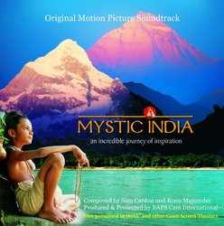 Mystic India: An Incredible Journey of Inspiration Soundtrack (Sam Cardon) - CD cover