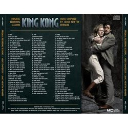 King Kong Soundtrack (James Newton Howard) - CD Trasero