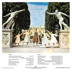 The Sound of Music Soundtrack (Various Artists, Irwin Kostal) - CD Back cover