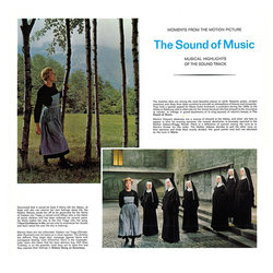The Sound of Music Soundtrack (Various Artists, Irwin Kostal) - cd-inlay