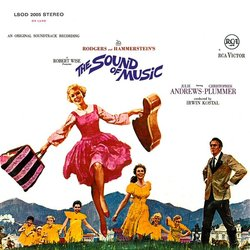 The Sound of Music Soundtrack (Various Artists, Irwin Kostal) - CD cover