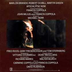 Apocalypse Now Soundtrack (Carmine Coppola, Francis Ford Coppola) - CD Back cover